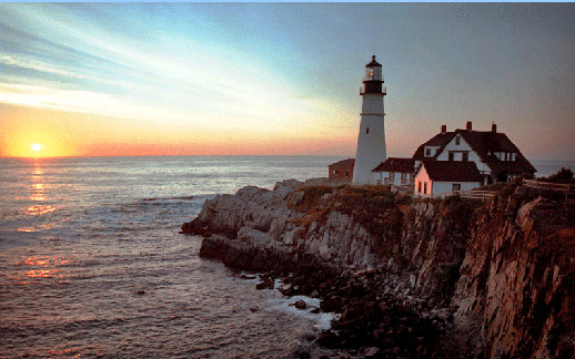 New England lighthouse photograph